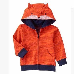 Gymboree Fox Hoodie Sweatshirt